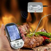 Termometer Digital Wireless Oven BBQ Grill Steak Alarm Probe Sensor