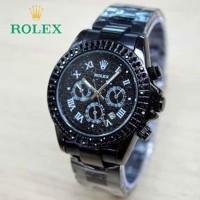 Jam Tangan Wanita / Cewe Rolex H8057 Full Hitam