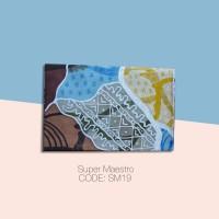 Kain Batik Tulis Solo Abstrak Super Maestro Kode SM19