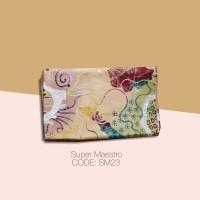 Kain Batik Tulis Solo Abstrak Super Maestro Kode SM23