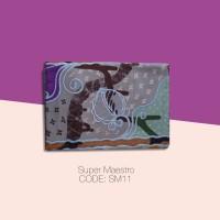 Kain Batik Tulis Solo Abstrak Super Maestro Kode SM11