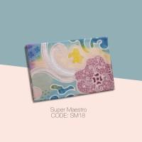 Kain Batik Tulis Solo Abstrak Super Maestro Kode SM18