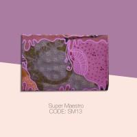Kain Batik Tulis Solo Abstrak Super Maestro Kode SM13