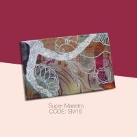 Kain Batik Tulis Solo Abstrak Super Maestro Kode SM16