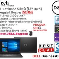 """DELL Latitude 5480 (14""""Inch) Core i7-7600U/8GB/1TB/VGA Nvidia/WIN10PRO"""