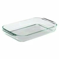 Pyrex tempat wadah makanan 1.5 L. Tempered glass