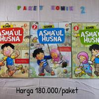 Buku komik anak islami asmaul husna series 3jilid