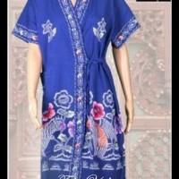 Jual (Murah!!) Kimono Batik Kencana Ungu / Ukuran All Size D ( Daster ) Murah