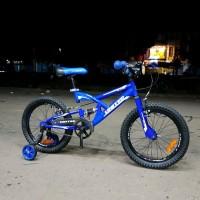 United Pulse Sepeda Mtb roda 16-18 inch Untuk Anak 4-7 Limited