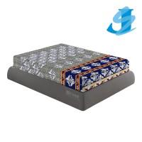 Rivest Sarung Kasur 100 x 200 x 20 - Blue Safir
