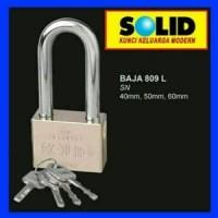 Gembok SOLID Tipe 809 Leher Panjang 40 mm - Padlock Limited