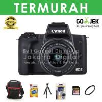 Jakarta Digital Canon EOS M50 Kit EF-M 15-45mm Paket - Hitam