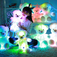 Teddy Bear Dolls Glowing Lights LED | Boneka Teddy Bear | Varian Pita