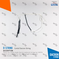 Cartel Dacron String - Tali Busur Panah Impor Sirius / SF murah