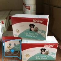 Bioline Tea tree Oil Soap Bar (Anjing dan Kucing)
