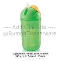 Tupperware Twinkle Straw Tumbler (TEMPAT MINUM ANAK)