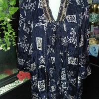 Baju Atasan Cewek Batik Pekalongan / Blouse / Blus / Hem cewek / baju