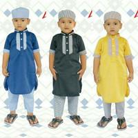 Jual Gamis Koko turki Pakistan Jubah anak pria laki baju muslim peci bayi Murah