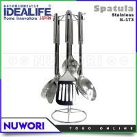 Spatula Sodet Tools Stainless Idealife IL-173  - Peralatan Masak