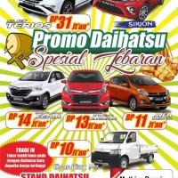 Promo mobil daihatsu murah   cash dan kredit terios sigra ayla sirion