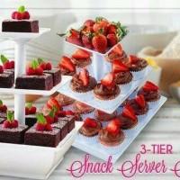 rak cake cupcake kue 3 tingkat rack snack decoration organizer ultah