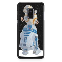 Star Wars R2D2 Bb8 L1708 Samsung Galaxy A8 Plus 2018 Custom Case