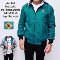 9 Warna /Jaket Bolak Balik Ariel / Jaket 2 In 1 Jaket Dc Bolak Balik Z