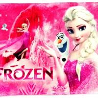 Keset Karakter Anti Slip Frozen Pink