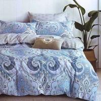 Sprei Katun Jepang Blue Batik 120x200x25