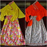baju muslim anak/gamis anak Qrana size 4