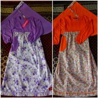 baju muslim anak/gamis anak Qrana size 5