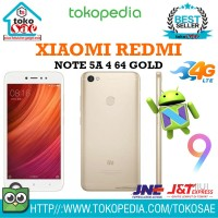 HP XIAOMI REDMI NOTE 5A 4 64 GOLD ANDROID XIOMI