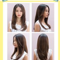 PONI KLIP PONY CLIP HAIRCLIP HAIRKLIP HAIR VOLUMER 02 RAMBUT PALSU