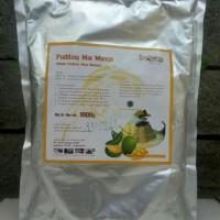Grosir Silky Puding Powder 1000gr Rasa Mangga