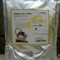 Grosir Silky Puding Powder 1000 gr Rasa Vanilla