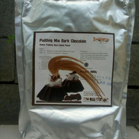 Grosir Silky Puding Powder 1000 gr Rasa Dark Chocolate