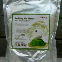 Grosir Silky Puding Powder 1000 gr Rasa Melon