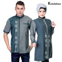 Busana Muslim Couple - Baju Couple Buat Lebaran BRANDED Couple terbaru