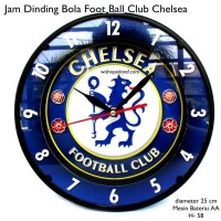 T2105 Jam Dinding Murah Club Bola 25 cm chelsea d532273555