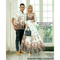 Best Seller | Batil Couple Semi Sutera Rabbani Muslimah Dress Party