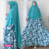 Gamis wanita muslim dress syari alila