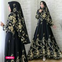 Gamis wanita muslim dress syari tifanny