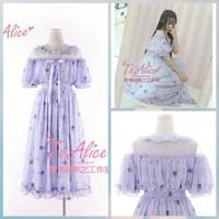 Meng Meng Lullaby Dress Purple