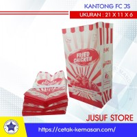 Kantong fried chicken paper bag