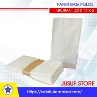 Paper bag polos - Kantong Polos