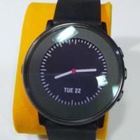 Pebble Time Round Bekas - jam tangan saingan Moto 360 Smartwatch