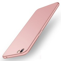 Case Casing HP OPPO F3 Plus Baby Skin Ultra Thin Hard Case Red Pink G