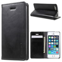 Case Casing HP OPPO Flip Leather Case wallet F5 Hitam New