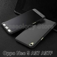 Case Casing HP OPPO A37F A37 NEO 9 HARD CASE 360 FULL PROTECTION FREE