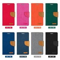 Case Casing HP OPPO Canvas A71 Flip Cover Denim Wallet Flip Case Casi